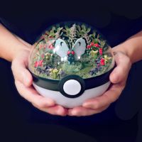 Butterfree Garden - Poke Ball Terrarium by The-Vintage-Realm