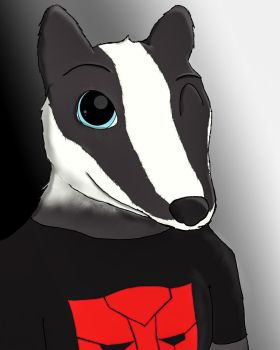 Optimus the Badger by crossfire775