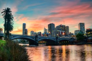 Melbourne Sunset by djzontheball