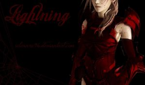 Lightning Bloody Wallpaper by Selenaru96