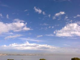 The Clouds and Me - The River Tejo-2012-18-09-03 by Kay-March