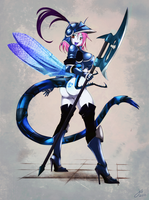 Azure Hawker by JessicaElwood