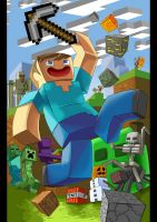 Minecraft fan art by SemajZ