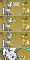 Trouble with Rhymes - Colored by CosmicWaltz