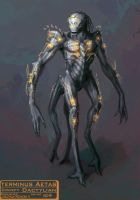 Creature Concept: Dactylian by ndhill