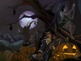 Halloween Decorations WP by JenZee