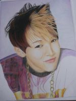 WIP 5 BamBam by Vivi--Art