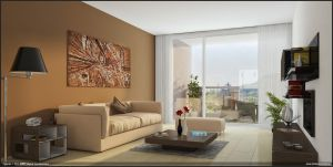 Living Room by diegoreales
