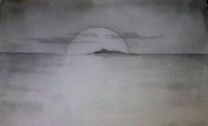 Lazy Beginner Landscape Quick Sketch by Cloudgir14