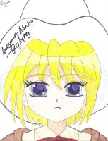 Save Me Lollipop Forte Drawing Signed by kikyo4ever