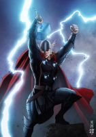 The Mighty Thor by erlanarya