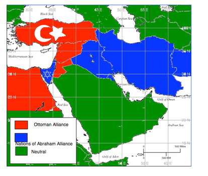 American-German Cold War: Middle East Alliances by Freedim