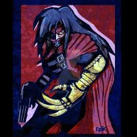 Vincent Valentine by edbot5000