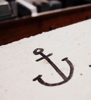 Anchor Drawing by AleighaRawr