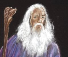 Gandalf the Grey Portrait by PauloDuqueFrade