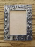 Indiana's Pewter frame by EleonoraIlieva