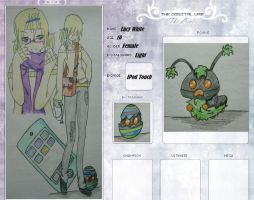 Digimon OC..... Lucy White by BlAcK-MoNaRcH13