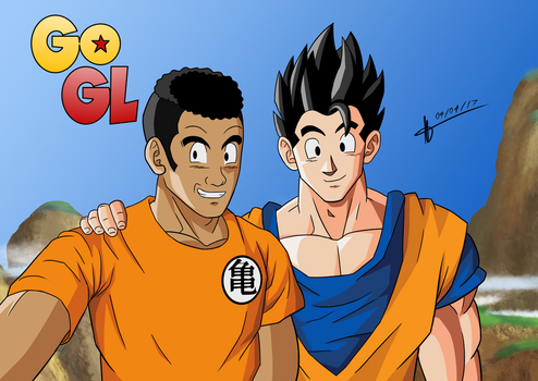 Marcos and Gohan by MatheusHQD