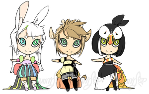 Halfling Adoptables *paypal* by Moriartea-time