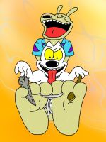 Request: Rocko tickled by wtfeather