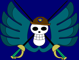 Jackie's Jolly Roger by UsoppLover4EVER