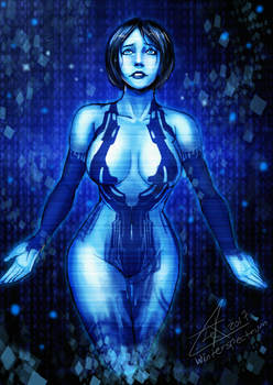 Cortana by WinterSpectrum