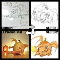 Charizard process by PunkBouncer