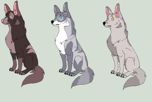 Wolf adopts~OPEN by Adopt-Til-You-Drop