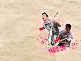 Frank Iero Wallpaper by myukinha-vlt