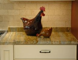 Chicken of a Different Color 2 by ACrazyCharade-Stock