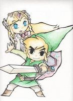 Legend of Zelda by giulystar-chan