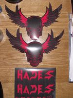 Hades Stickers by GHussain