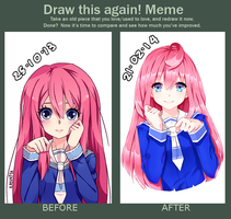 Draw this again meme by NyanStrike