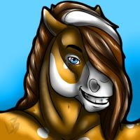 Horse Head Shot Commission 2 by HotrodsImpulse