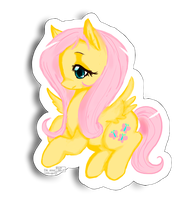 Fluttershy by Hickepop