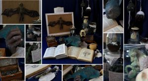 cabinet of curiosities by Ermelyn