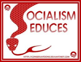 Socialism Seduces by Conservatoons