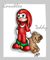 Knux and Teddy by cuteychao