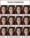 Emotions of Bella Swan by Hanuro-Sakura