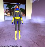 Batgirl In A Hypno Fog by The-Mind-Controller