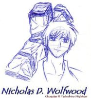 Wolfwood by DeltaVT