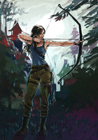 Lara Croft - Tension by characterundefined