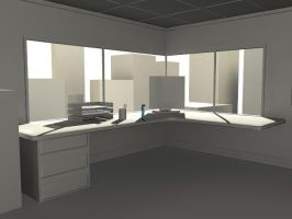 Office WIP 1 by DuffMan256