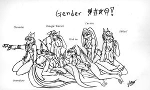 Gender F+++: the Project by Snowfyre