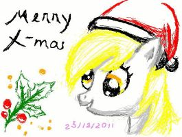Merry Derpy Christmas by HimekoYagami
