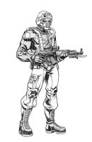 GI JOE Plague Des Bayonet by RobertAtkins