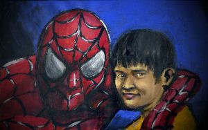 willy and spidy by AndreasPratama