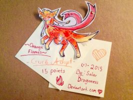 Orange Flames- Guro Adopt (CLOSED) by SolarDragoness