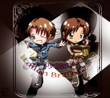 Happy Bday Italian Brothers by ChibiGuardianAngel