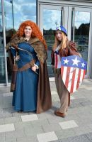 Stoke-Con-Trent 2014 (59) Merinda and Ms.America by masimage